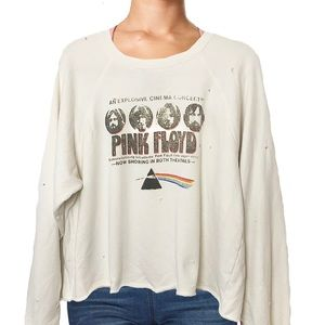 Retrobrand Free People Pink Floyd Sweatshirt